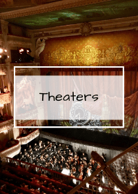 Theaters St. Petersburg Russia
