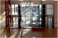Reinventing Stairways Using Fire Rated Glass - SaftiFirst