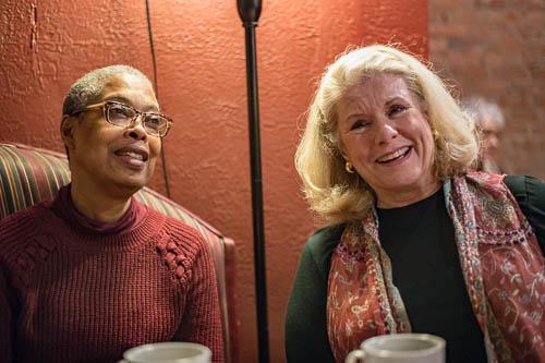 Yvonne and Bonnie