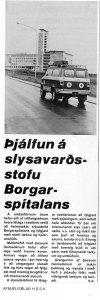 Fengu þjálfun á Slysavarðstofu