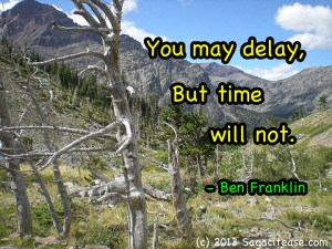 Time wont delay