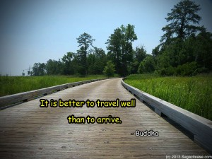Better to travel well