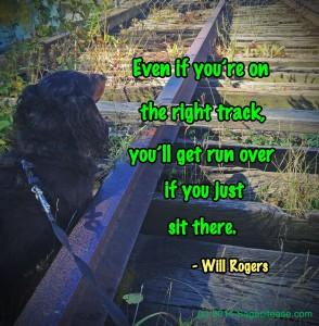 Sittin on the rails