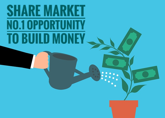 Share Market No.1 Opportunity To Build Money