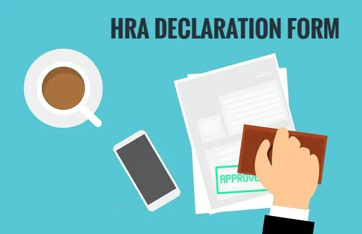 hra declaration form