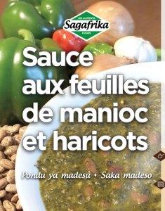 Sauce aux feuilles de Manioc et Haricots