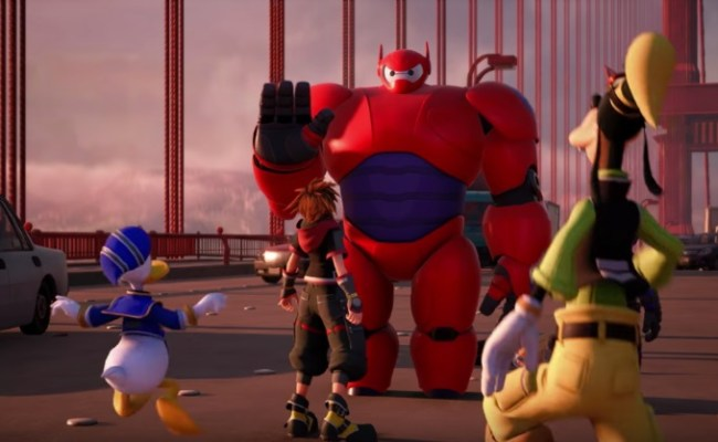 Kingdom Hearts 3 Will Include Baymax Your Personal