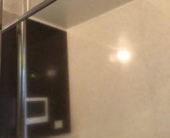 佐賀市の風呂の鏡