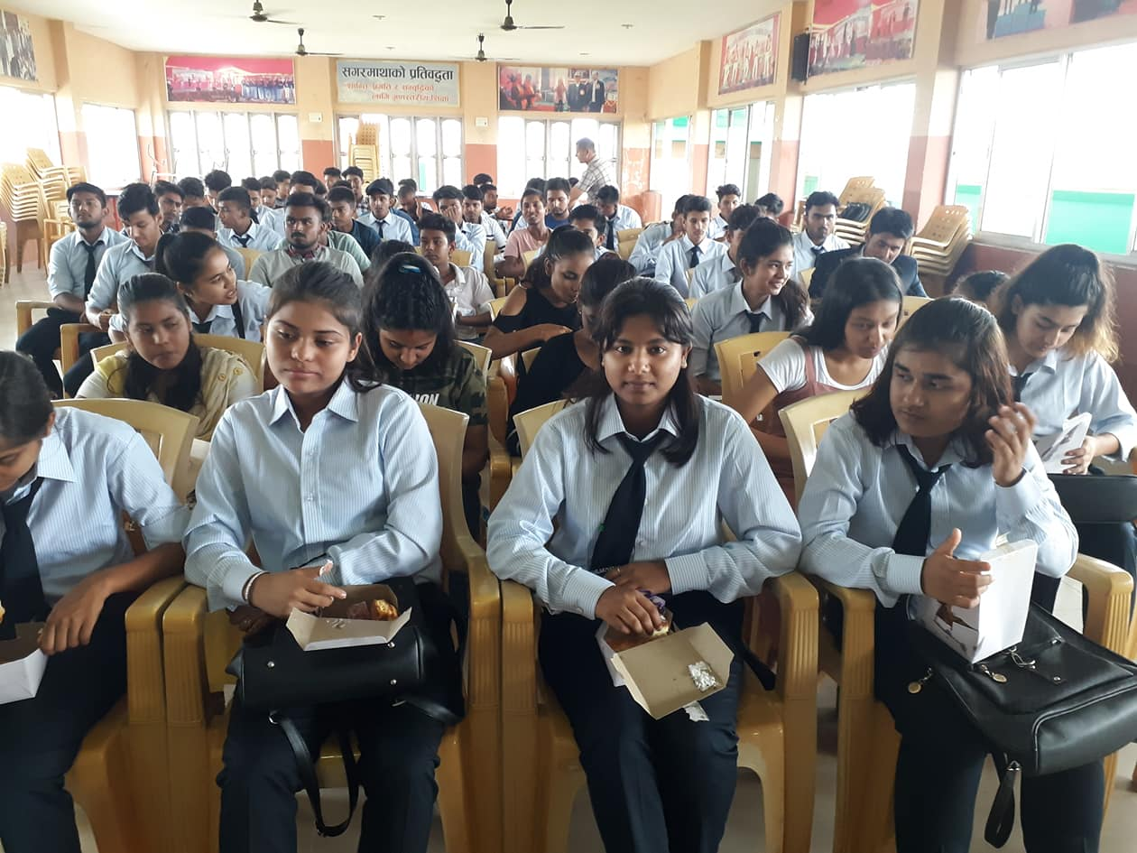 Admission open for New students for Grade 11