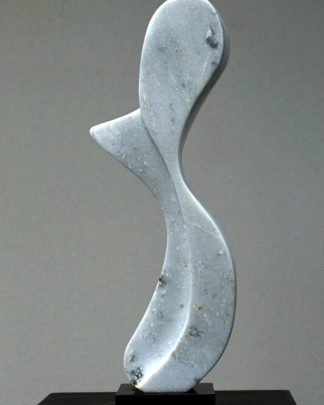 Marble sculpture, original abstract