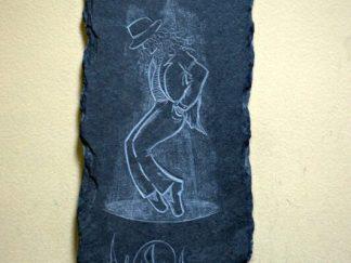 Jackson stone plaque