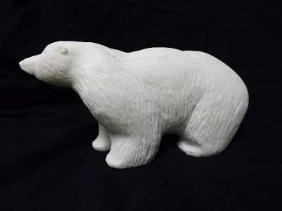 Marble Polar bear