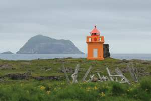 Lighthouse in the East Fjords