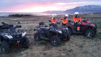 ATV Northern Lights Ride