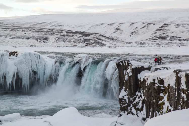 Godafoss Waterfall via Lake Myvatn Tour from Akureyri