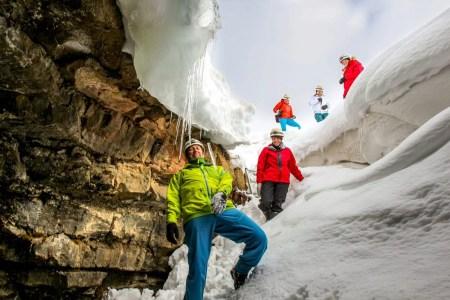 Cave Exploration Lofthellir Winter Challenge
