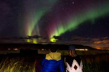 Northern Lights in North Iceland