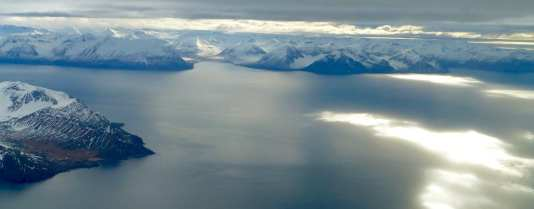 Fjords by the arctic circle