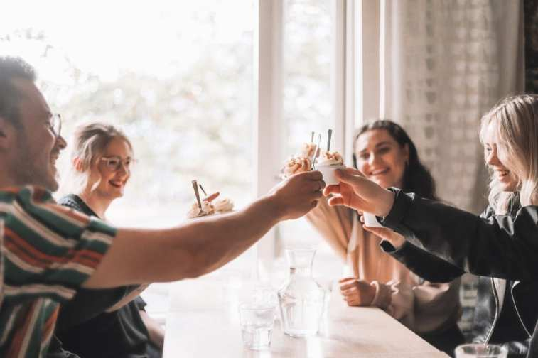 Skál or Cheers in Icelandic