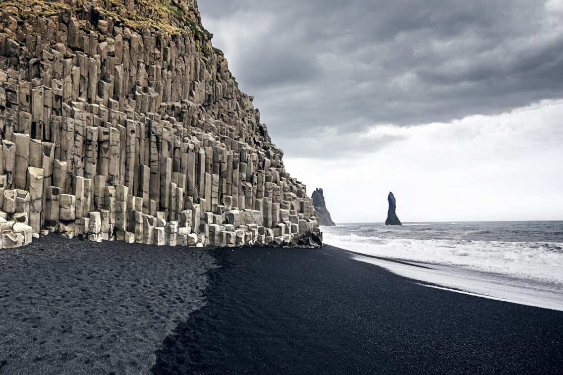 South Coast Day tour Reynisfjara Black Sand Beach