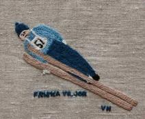 Friska viljor IDROTTSFÖRENINGEN FRISKA VILJOR bildades 1905. Det var hedersordförande Assar Lindgrens moster som föreslog namnet Friska Viljor. Det kallade sig nämligen hon och ett gäng hurtiga skidflickor i Östersund. Från början ägnade man sig mest åt fotboll och skidlöpning men i slutet av 1930-talet kom Friska Viljor att bli landets främsta backhopparklubb. 1916 hölls vinterspelen, som idag motsvarar SM, för första gången i Örnsköldsvik men det var först senare FV-skidåkarna hade sina glansdagar. 1939 segrade i Holmenkollen Sven Selånger i backe och Sven Edin på 50 km. Selånger var den förste icke norrman som vann Holmenkollens specialbackhoppning.