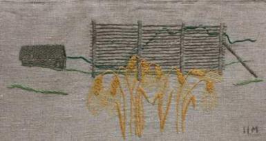 Kornhässja När man skulle skörda kornet, slog man det med lie och band ihop till lagom stora kärvar. Därefter drog man upp kärvarna i kornhässjan med block för att torka. Efter att kornet torkat, tog man ner det, tröskade och sedan kunde man mala och baka bröd. I jämförelse med torkning på slag (liggande på marken) är torkning på hässja mindre känsligt för regn, då det yttersta lagret fungerar ungefär som ett paraply för de underliggande lagren.