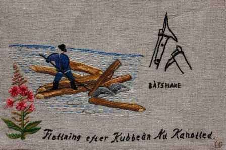 Flottning efter Kubbeån Flottning efter norra Anundsjöån har pågått från 1820 -talet fram till omkring 1946 - 1947. Idag är ån en populär kanotled.