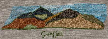 Grönfjäll Grönfjäll är ett populärt utflyktsmål både vinter och sommar, med det omtyckta Grantonsskalet i dalgången mellan och Grönfjället och Klippfjället. Grönfjällstoppen mäter 1375 m.ö.h.