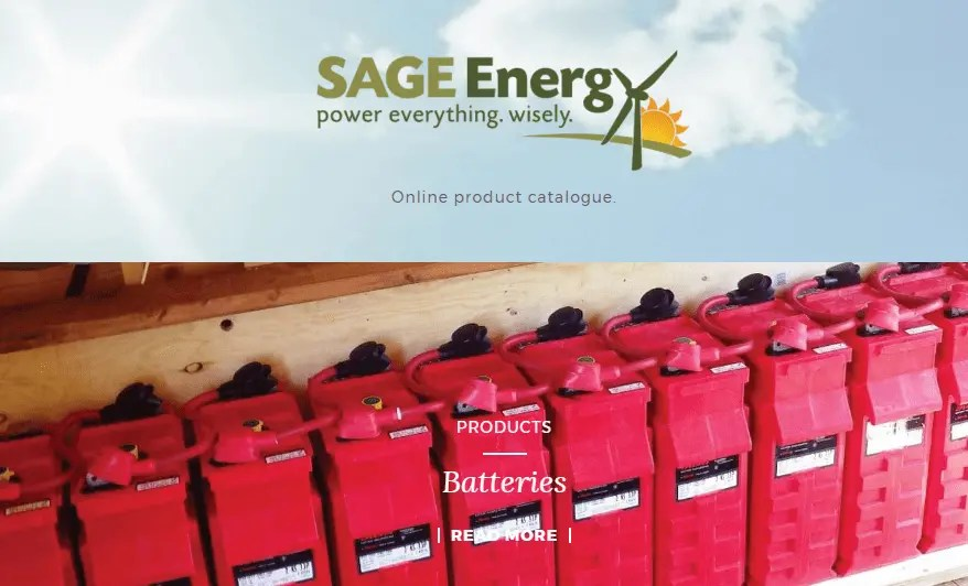 Renewable Energy Catalogue Now Online