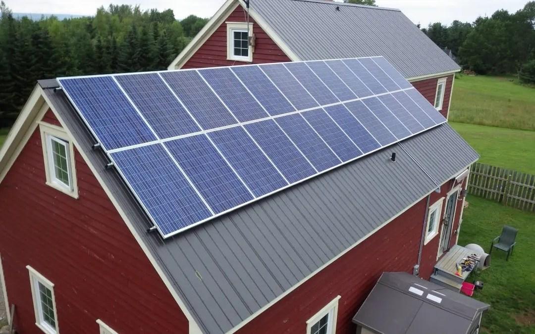 Grid-Tied Solar in Annapolis Valley