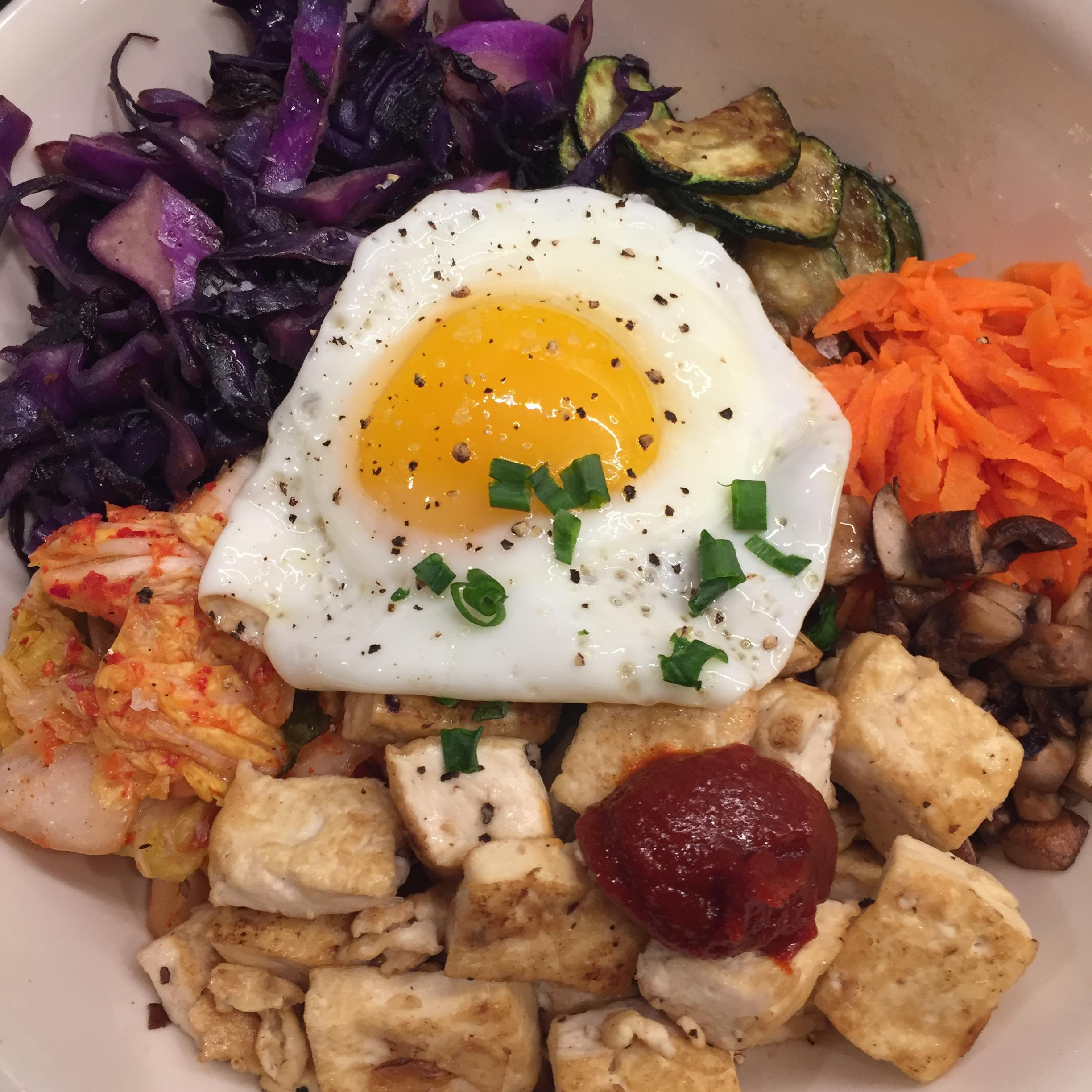 BiBimBap Bowl with Egg