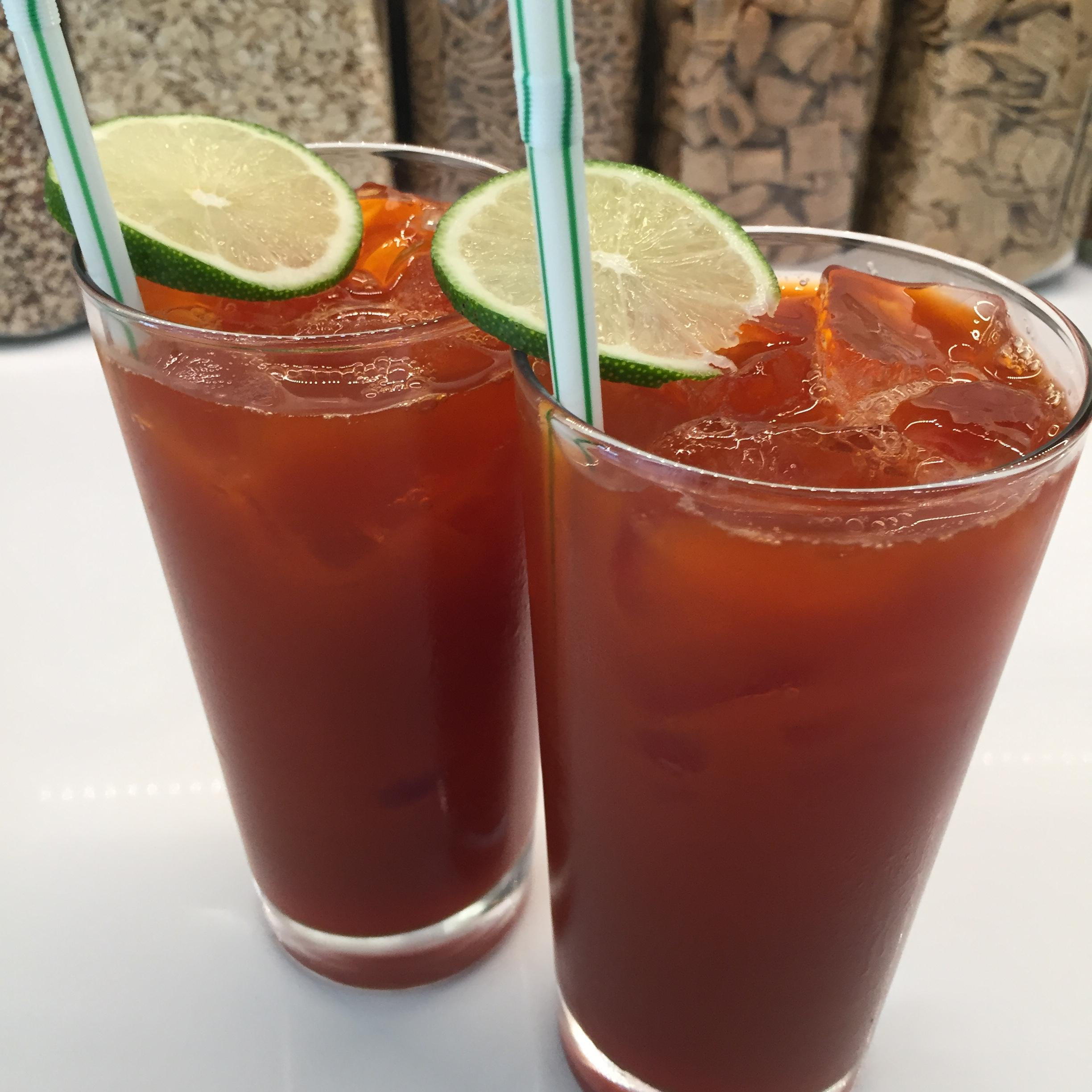 Thai Iced Tea with Lime