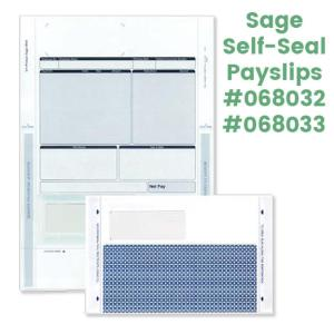 Sage self-seal payslip mailers