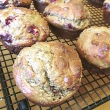 Strawchoco Muffin