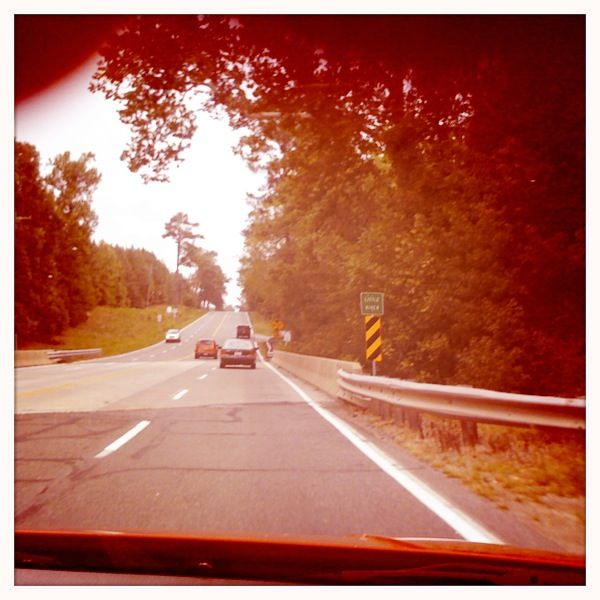 Driving to Culpepper and Wineries