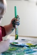 Painting With Tempra Paint (16 of 22)