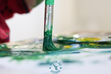 Painting With Tempra Paint (21 of 22)