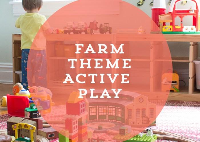 Farm Themed Active Play