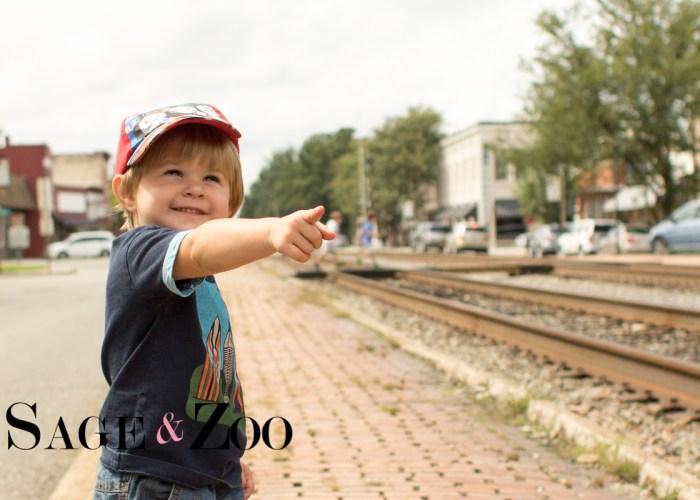 First Train Ride