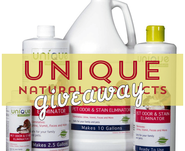 Giveaway Unique Natural Products