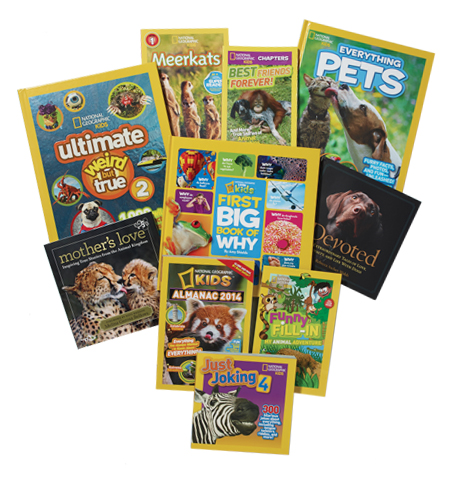 Giveaway and Review: National Geographic Kids Books