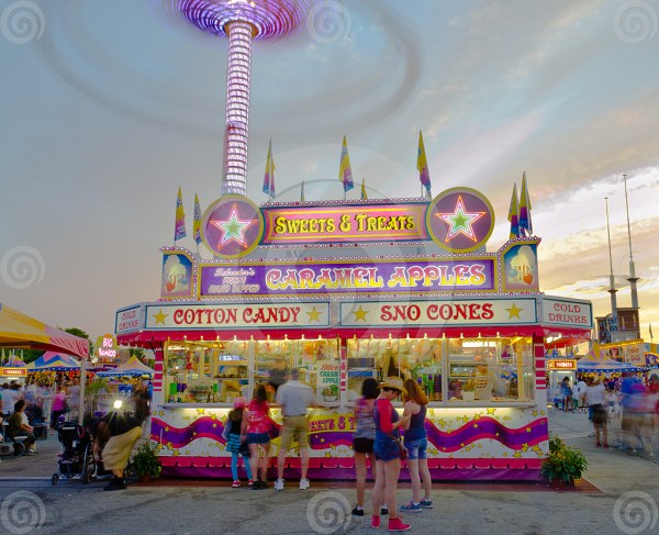Stock Cotton Candy Stand Art Of Anthony Sell