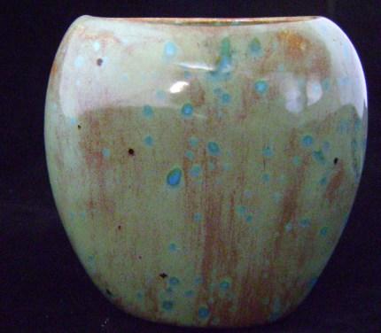 Mini Pinch Vase - Teal Blue Moon