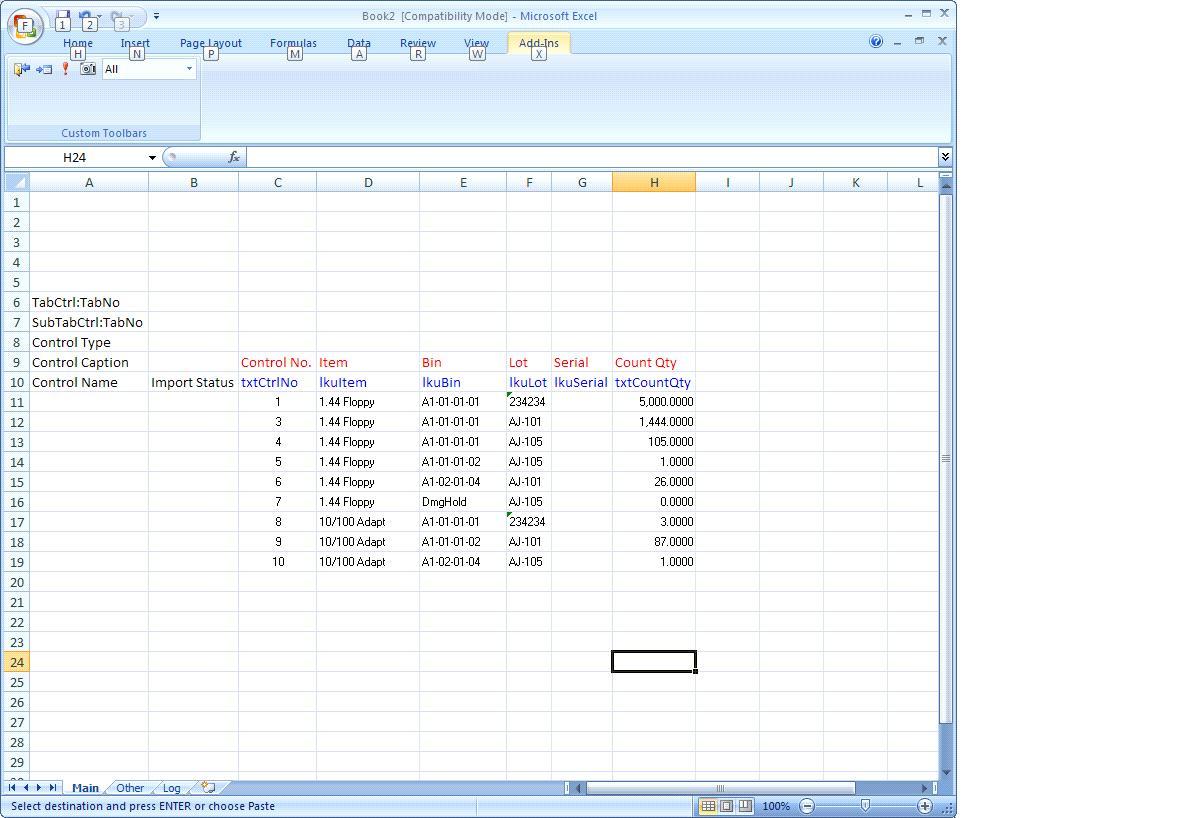 Cash Drawer Count Sheet Excel