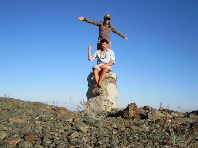friends on trail