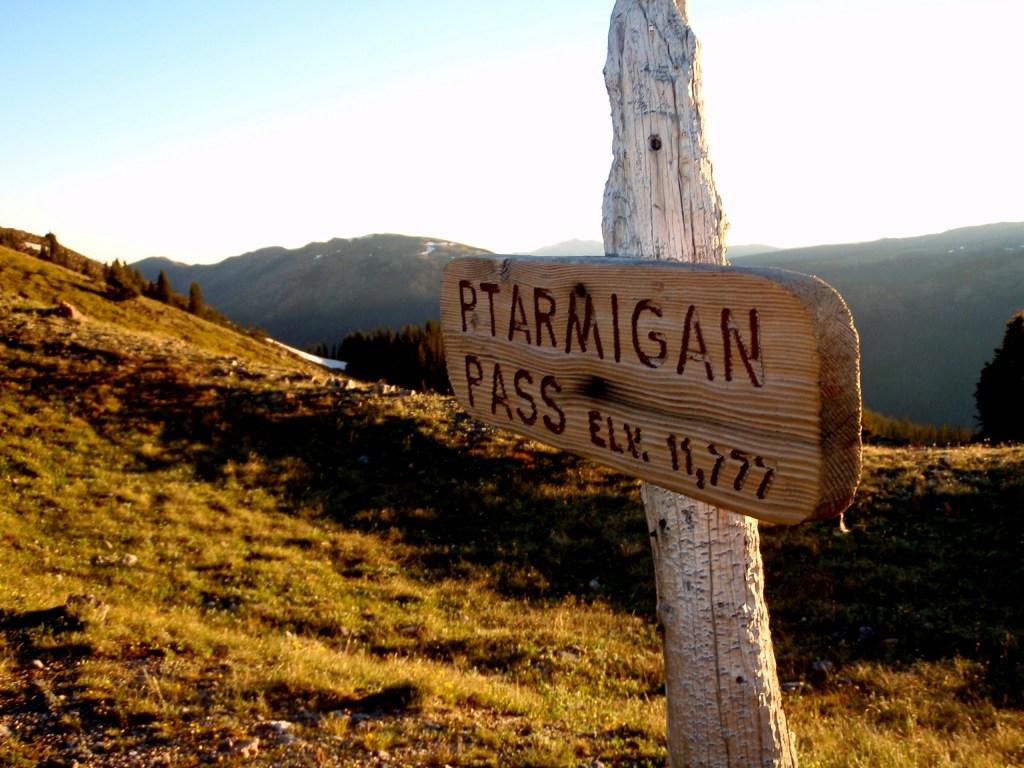 ptarmigan pass