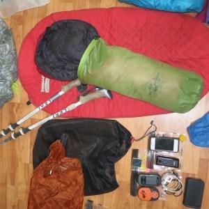 Bug head nets can be used as stuff sacks too