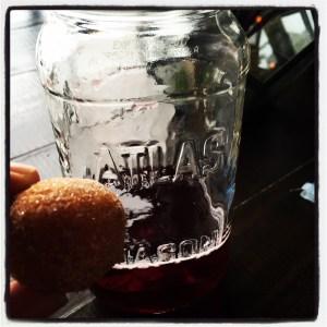 Apple Cider donut holes!