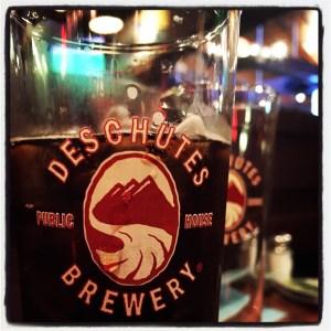 Mighty fine root beer at Deschutes