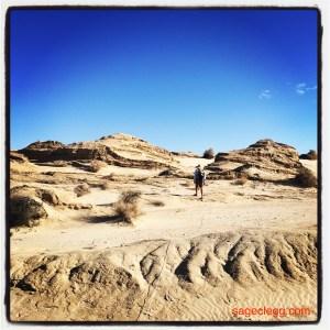 Sand dunes near Barstow